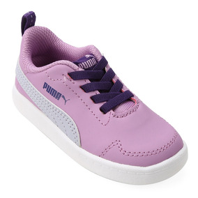 97291a04b53 Tenis Unicornio Menina Puma - Tênis para Meninas Azul violeta no ...