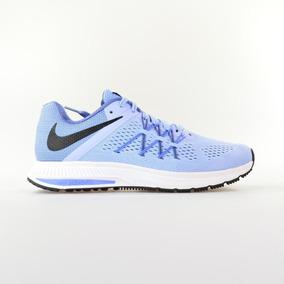 b3fbb4fb66 Tenis Nike Zoom Winflo 3 Running Feminino Azul