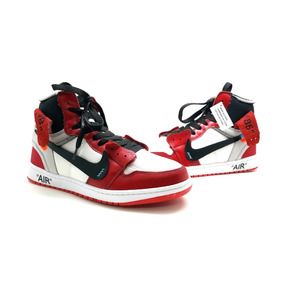 2a7591fb2de Tenis-bota Nike A Ir Jordan 1 Lançamento De Couro Na Caixa