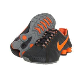 8df57ac1e54 Tenis Feminino Laranja Fluorescente Nike Shox - Nike no Mercado ...