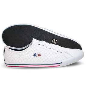 5bb04839fa83c Tenis Couro Lacoste Branco - Calçados