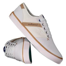 6e723cb2b6 Tenis Polo Royal - Tênis Casuais para Masculino Branco no Mercado ...