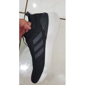 c0cfe7926 Tenis Adidas Feminino Preto E Branco Sem Cadarço - Adidas no Mercado ...
