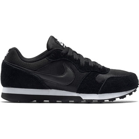c6bf2f2dbe1ec Tênis Nike Md Runner 2 Feminino Preto E Branco Frete Grátis!