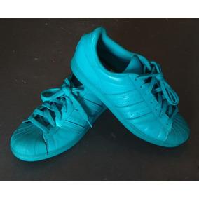 d9d5dc1ffde Tenis adidas Originals - Superstar Supercolor 43 - Verde