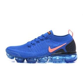 e502fb3d7a1 Tenis Nike Azul Com Sola Laranja Running Feminino - Tênis no Mercado ...