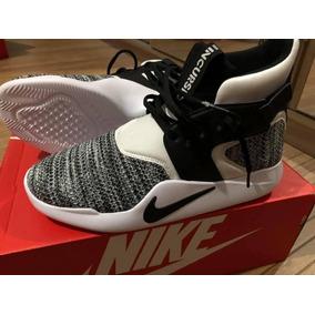 6ed292ec232 Tenis Nike Incursion Cano Alto Branco E Preto Novo Original
