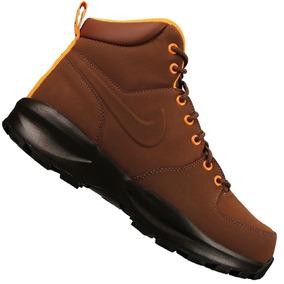 e0cedbfa59a Nike Acg Manoa Botas Caminata Piel Cafe Suela Terra Original