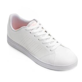 1b713aab16f Tenis Adidas Branco Com Rosa Numero 27 Primeira Linha - Tênis no ...