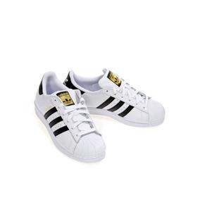 402c88c6 Adidas Superstar Negras Con Rayas Blancas - Tenis Adidas para Hombre ...