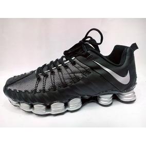 3e20ad16a7e Tenis Nike Shox Premium Preto E Prata Nº38 Ao 43 Original