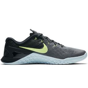 11ae56ac28 Tênis Nike Free Metcon Crossfit Black Strong Academia Box · Tênis Nike  Metcon 3 Crossfit Ocean Green Box Performance