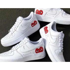 057b7d59130cb Nike Air Force 1 Red Heart Original Envio Gratis