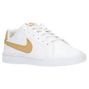 dd983e852484e Tenis Nike Court Royale Blanco Mujer Original 833535-105