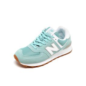 6010afda417 Tenis New Balance Infantil Verde Piscina - Calçados