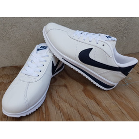 ccd5b2f6a6e95 Tenis Nike Cortez Blanco Azul Ch.producto Nacional