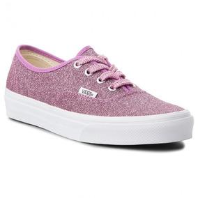529a3f26b Tenis Vans Authentic Lurex Glitter Mujer Skool Casual Skate
