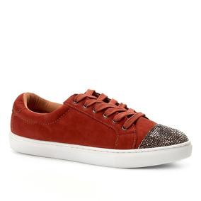 78d10ea969f Tênis Shoestock Soft Crystal Nobuck Feminino