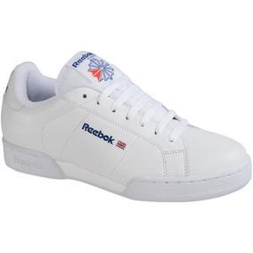 0a1e58869b4ec Tenis Blanco Reebok Npc Ii Hombre 120195 Nuevos Originales