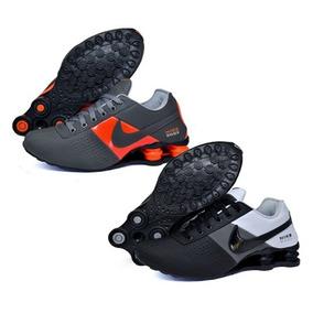 c94d019a382 Tênis Nike Shox Deliver Kit 2 Pares Masculino Original