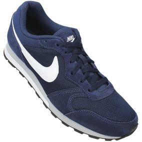 3f4d8780ba846 Tênis Nike Sportswear Md Runner 2 Azul Masculino - Calçados