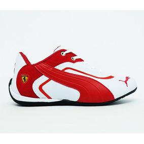 5c87193681311 Tênis Puma Ferrari New Preto E Vermelho - Tênis para Masculino no ...
