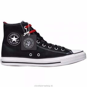 ac2715e0c93d Chuck Taylor All Star Chucks Ramones 113971 Black Schwarz Hi