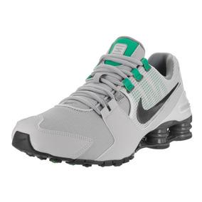 72851165416 Tenis Nike Shox Avenue Cinza Com Verde - Calçados