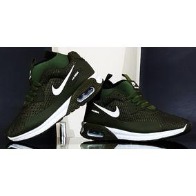 3d1f3764420c5 Nike Air Max Negro Con Verde Mujer - Tenis en Mercado Libre México
