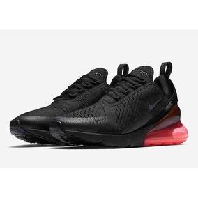0a61574339f Tenis Nike Air Max 270 Negro Con Rojo Para Caballero