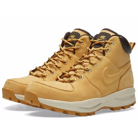 e39d95de8f Bota De Couro Marrom Terra Masculino Nike - Calçados