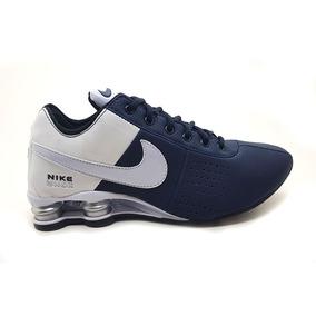 33b30ef68be Tenis Nike Shox Azul Marinho - Tênis Para Academia no Mercado Livre ...