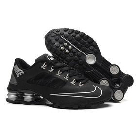 cf8905c9fb6 Teni Nike Shox R4 Preto Masculino - Calçados