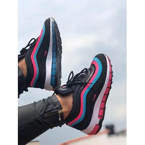 ba36b119280ed Nike Air Max 97 Mujer Negros - Tenis para Mujer en Mercado Libre ...