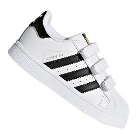 973cb7e2570 Tênis Infantil adidas Superstar Cf I Branco E Preto Original