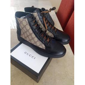 66d51980231f4 Tenis Bota Gucci Hombre en Mercado Libre México