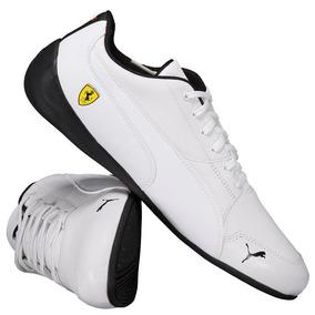 5fd5ae08ba0 Tenis Todo Branco Masculino Rasteiro Puma - Calçados