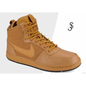 c180f792e6e Tenis Nike Court Borough Tipo Bota Color Miel