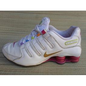 ad3fe24f984 Tenis Nike Shox Feminino 2016 Minas Gerais - Para Tênis Branco no ...