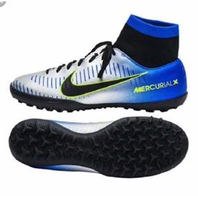 8595b4ad8878a Nike Mercurial Plateados - Deportes y Fitness en Mercado Libre México