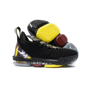 6dd1d80e9a621 Tênis Nike Lebron 16 Xvl Black Importado Kobe Kd 12 15 Xvl