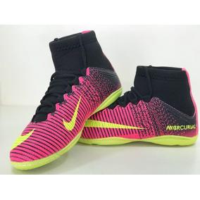 5928ef4497b27 Tenis Futsal Nike Cano Longo Rosa - Esportes e Fitness no Mercado Livre  Brasil