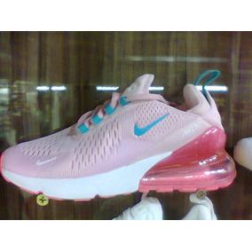 d71c6625ecd Tenis Nike Air Max 270 Rosa E Azul Bebe Nº34 Ao 39 Original