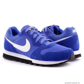 2b439108bd5 Tenis Nike Md Runner 2 Hombre Azul - Ropa