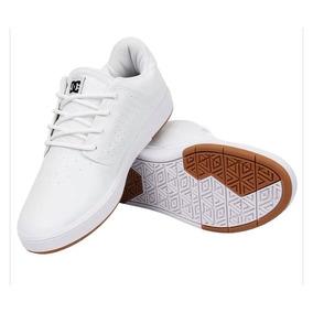 66179532bec Tenis Dc Shoes Court Parrudo - Tênis Branco no Mercado Livre Brasil
