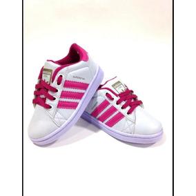 a6e84d0b63d Tenis adidas Super Star Kid Para Criança Ft Original !