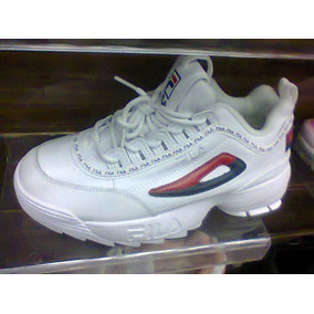 39dd3c7e698 Tenis Fila Disruptor Branco E Vermelho Nº37 Ao 43 Original!! R  500