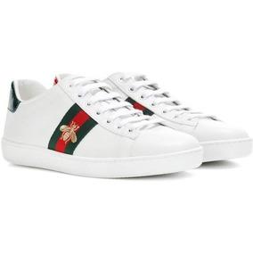 9e61d53aa4911 Venta Pavos Blancos Hombre - Tenis Gucci 24 en Mercado Libre México