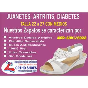 Zapatos Para Diabetes Artritis Juanetes Cuidado Manos En Mercado