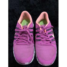 bae09927b1f Tênis Nike Fem Cor Rosa Tam 37 Modelo Free 5.0